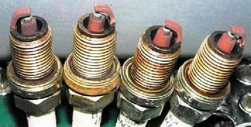 Диагностика работы мотора по состоянию свечей зажигания