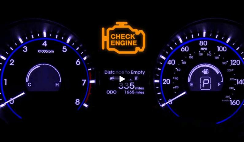 Что означает лампочка check-engine