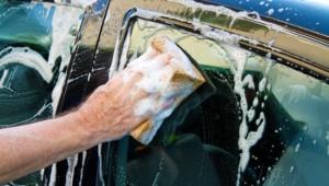 как мыть машину зимой на улице