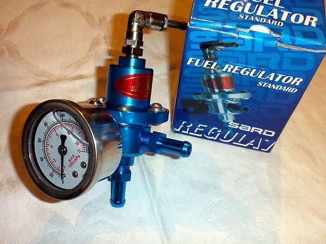 Как проверить регулятор давления в системе подачи топлива