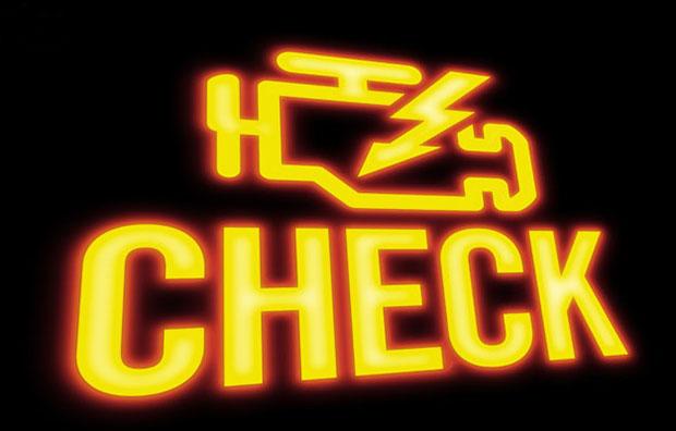 что такое контрольная лампа check engine