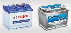 Bosch и varta - германские АКБ для всех условий
