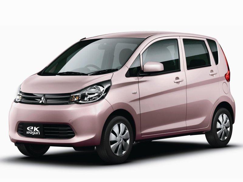 Mitsubishi ek wagon фото