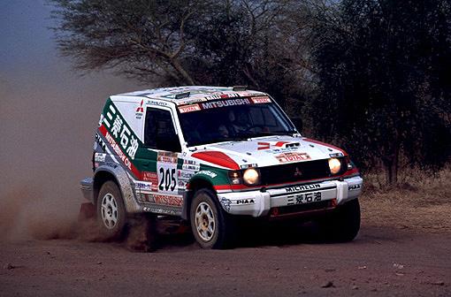 Pajero Dakar